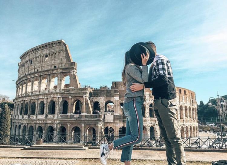 Romantická místa - zásnuby či dokonce svatba? - Řím