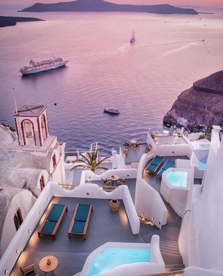 Romantická místa - zásnuby či dokonce svatba? - Santorini