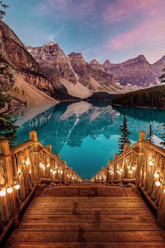 Romantická místa - zásnuby či dokonce svatba? - Banff - Alberta
