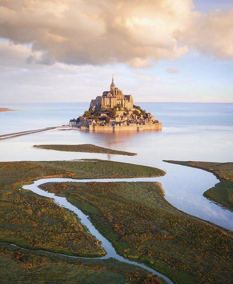 Romantická místa - zásnuby či dokonce svatba? - Mont Saint-Michel