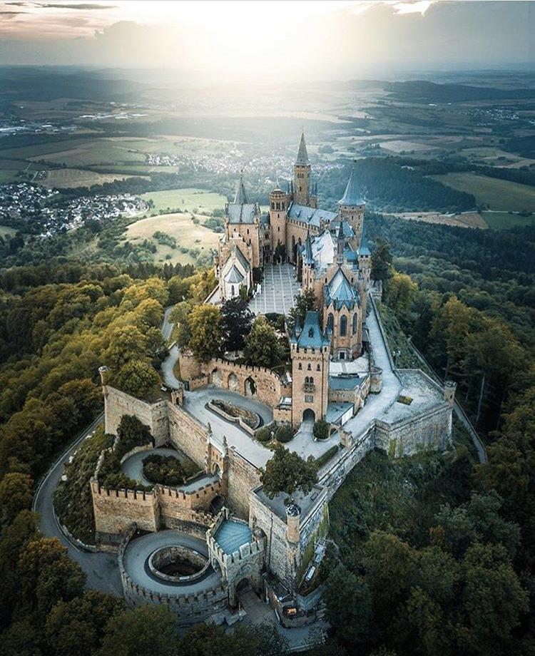 Romantická místa - zásnuby či dokonce svatba? - Hohenzollern Castle