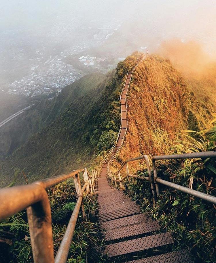Romantická místa - zásnuby či dokonce svatba? - Stairway to Heaven