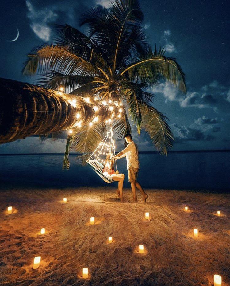 Romantická místa - zásnuby či dokonce svatba? - Maledivy