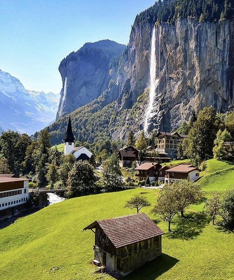 Romantická místa - zásnuby či dokonce svatba? - Lauterbrunnen - Švýcarsko