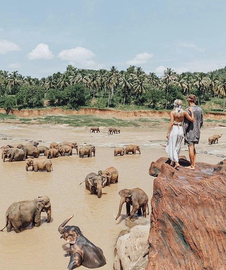 Romantická místa - zásnuby či dokonce svatba? - Sri Lanka