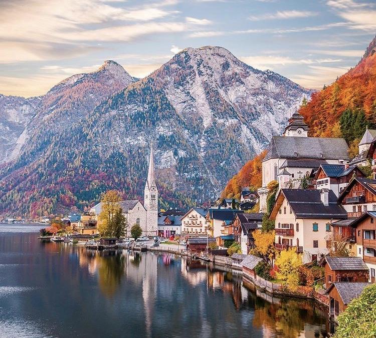 Romantická místa - zásnuby či dokonce svatba? - Hallstatt - Rakousko