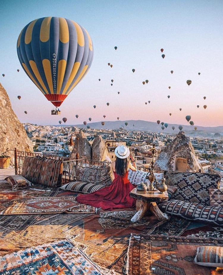 Romantická místa - zásnuby či dokonce svatba? - Turecko - cappadocia