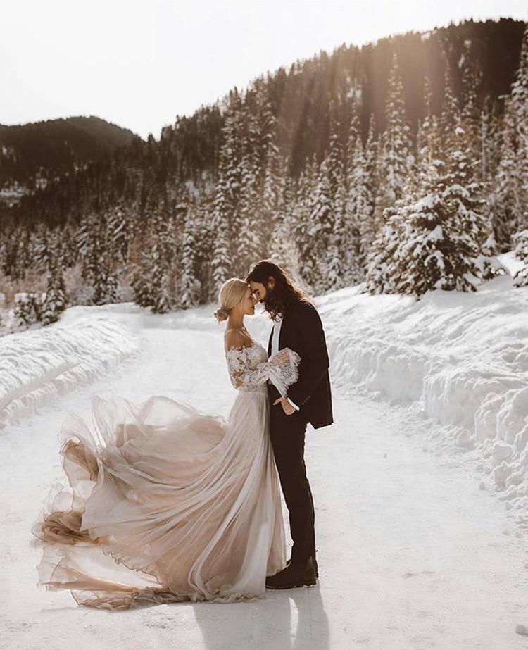 Svatba v zimě ala Sněhurčina pohádka