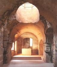 Obřadní síň Sklaního hradu Sloup