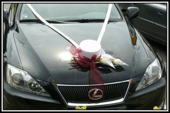auto zenicha - vlastni vyroba dekorace