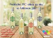 Etikety na fľašky,