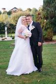 Svadobné šaty veľkosť 46, 46