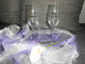 Skleničky na přípitek 2ks- Wedding day,