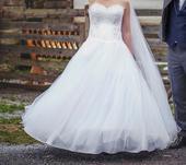 Nádherné princeznovské svadobné šaty, 38