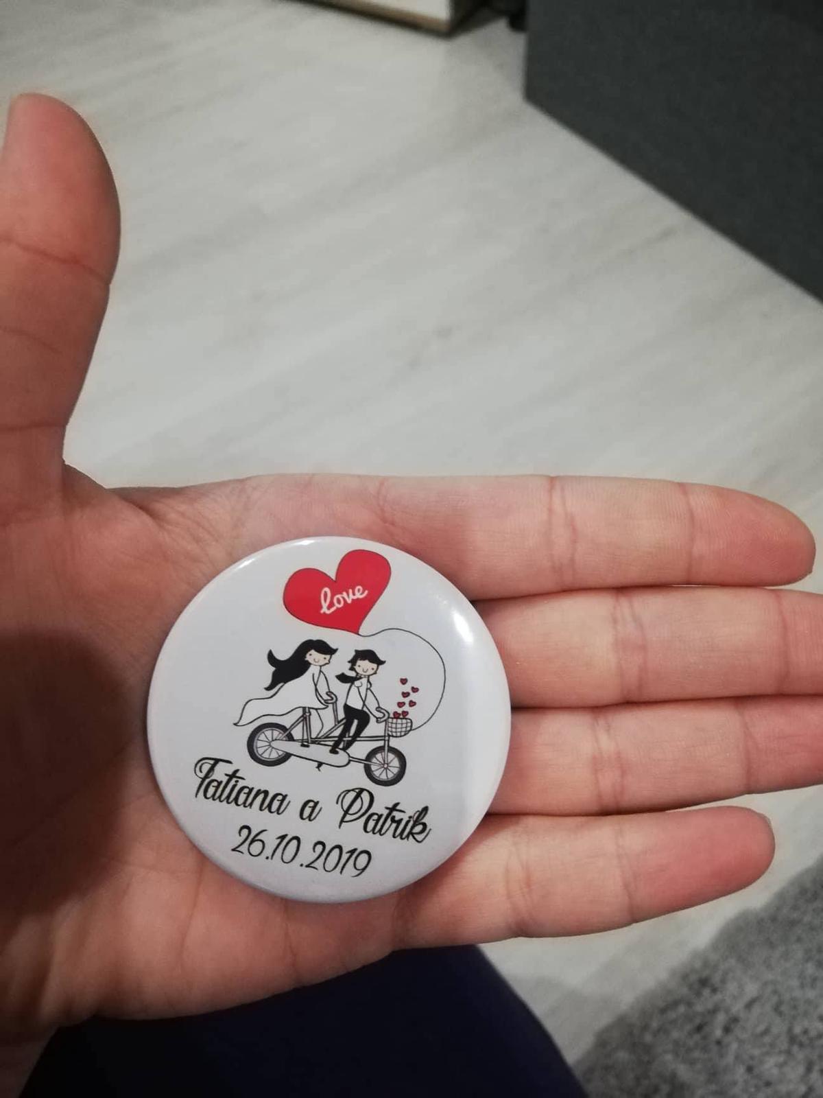 Plánovanie toho nášho najkrajšieho DŇA  :-) - Darčeky pre dámy na svadobný stôl :-) Magnetka