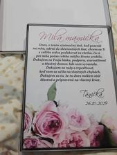 Poďakovanie pre mamičku :-)