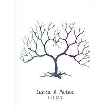 Strom hostí bude originál namaľovaný kamarátkou na plátne :-)