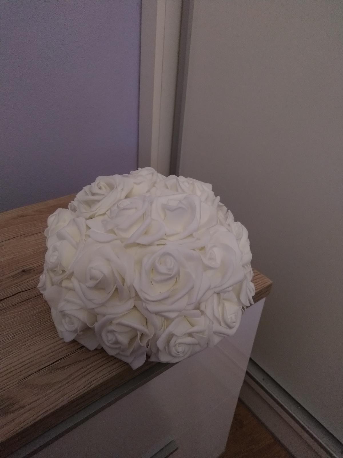 Set svadobných kytíc - Obrázok č. 1