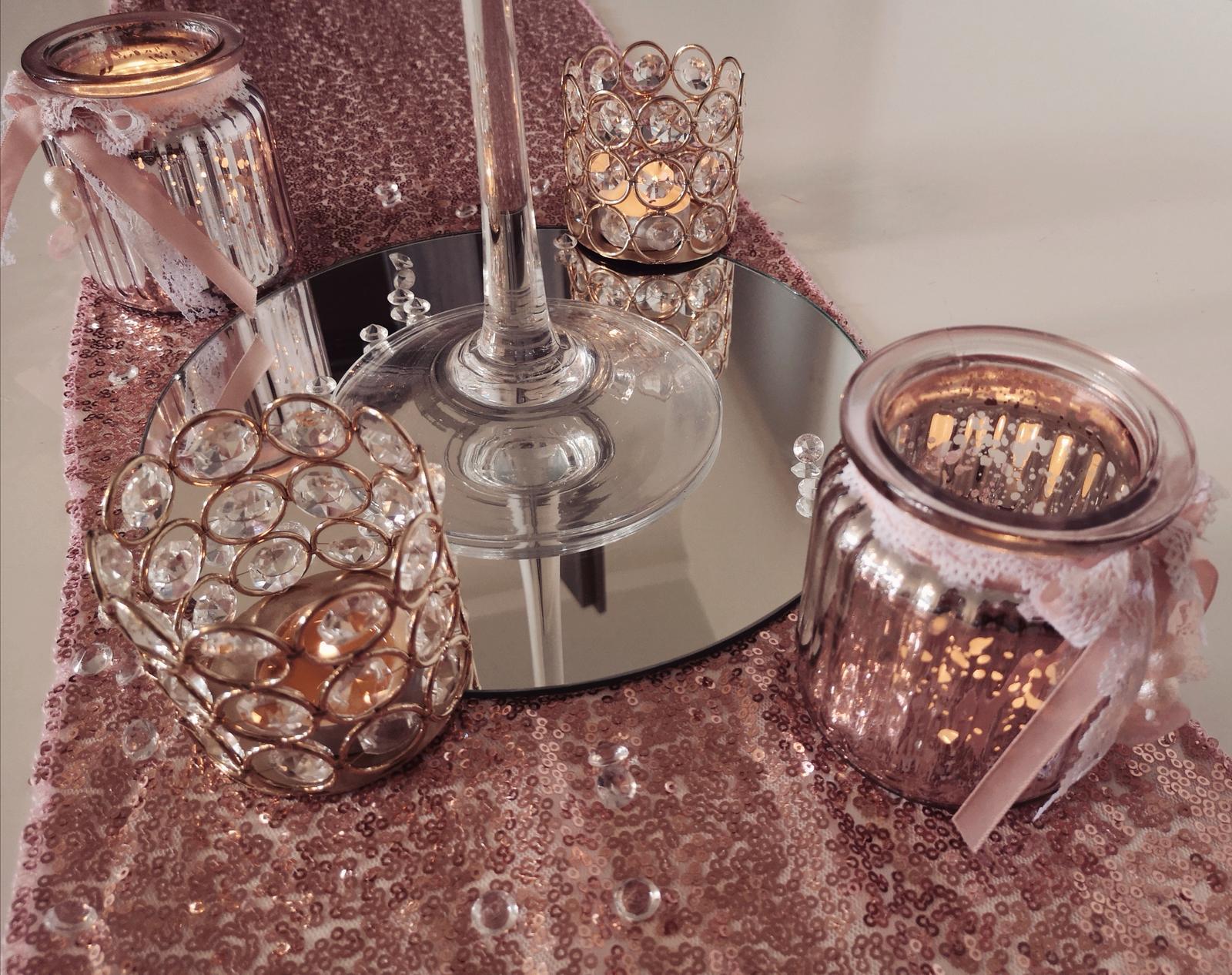Dekorácie stolov pre svadobných hostí - Obrázok č. 2