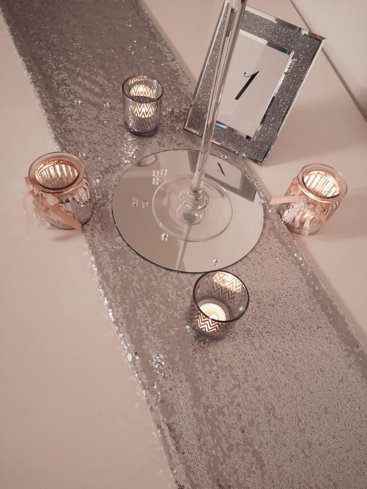 Dekorácie stolov pre svadobných hostí - Obrázok č. 9