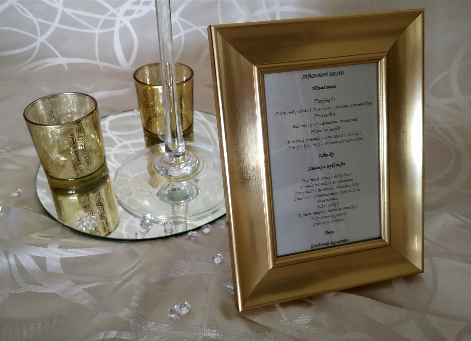 Dekorácie stolov pre svadobných hostí - Obrázok č. 10