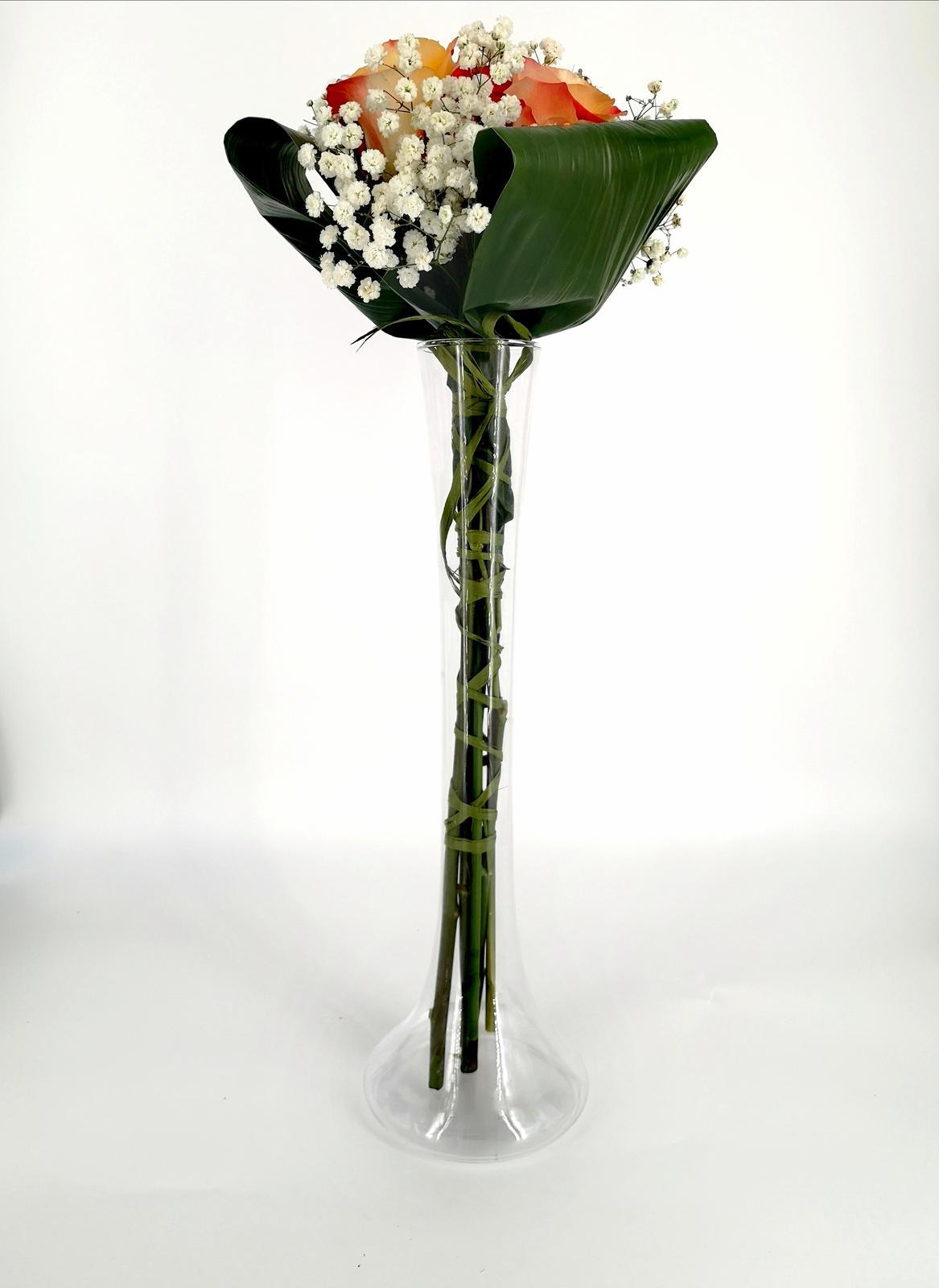 Prenájom - Úzka vysoká váza 40 cm - Obrázok č. 2