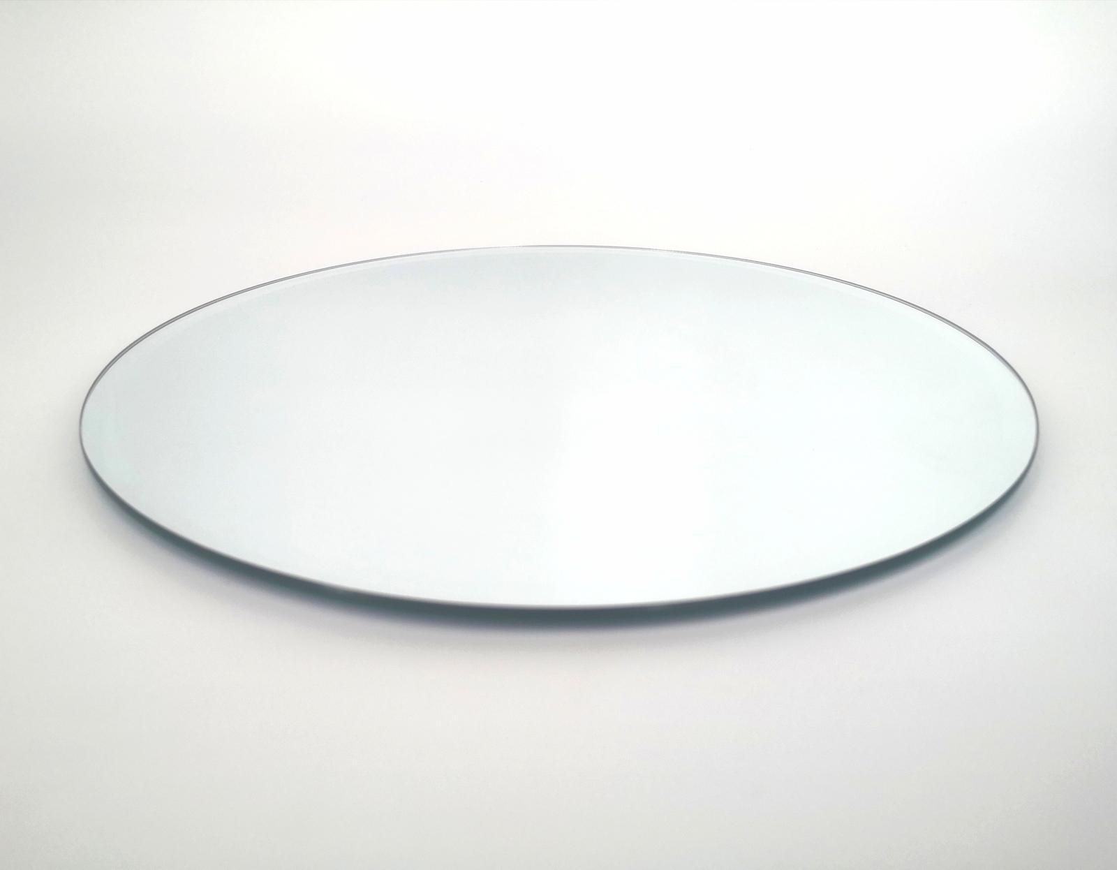 Prenájom - Zrkadlový podnos pod sviečku 25 cm - Obrázok č. 1