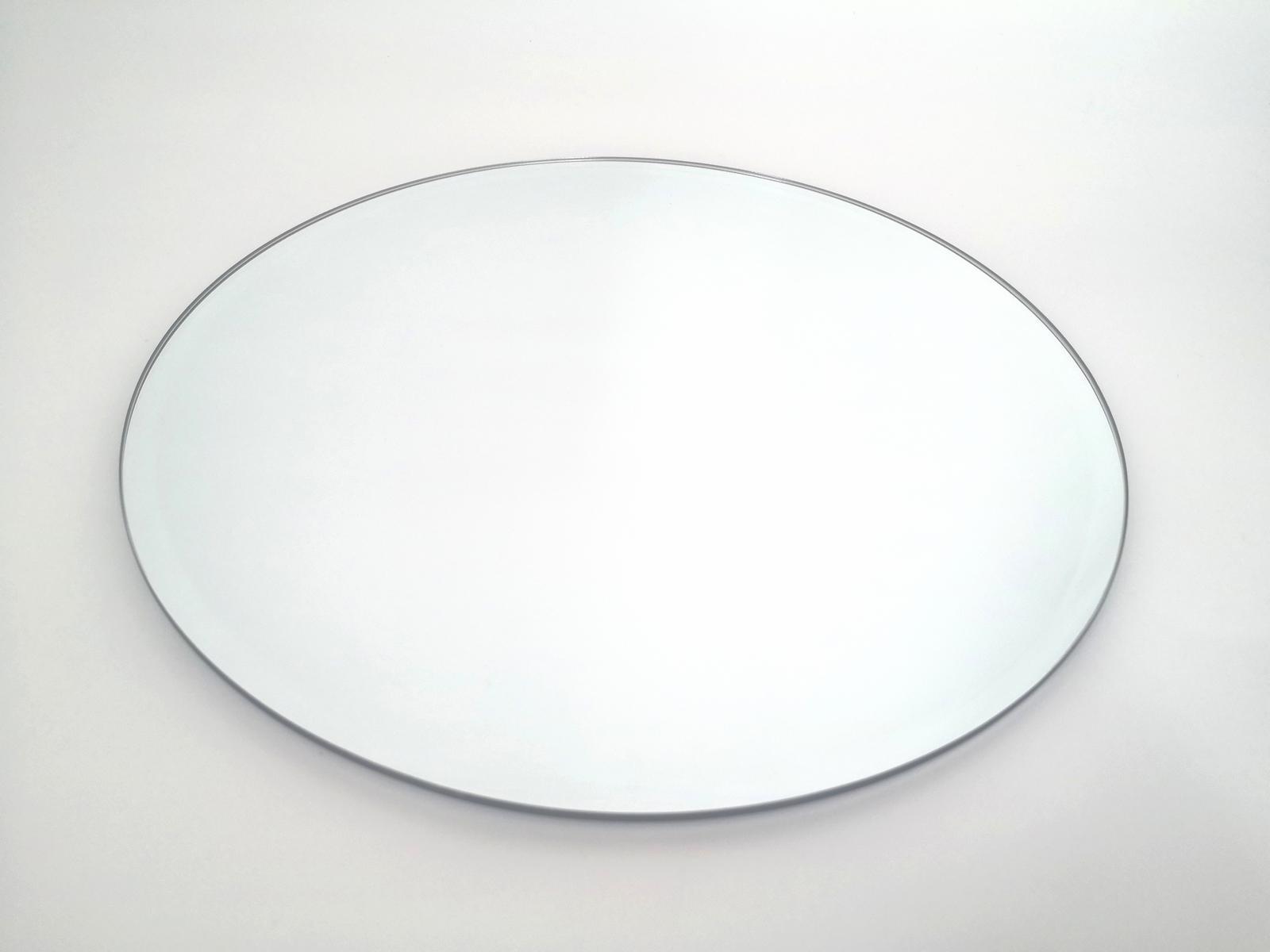 Prenájom - Zrkadlový podnos pod sviečku 25 cm - Obrázok č. 2