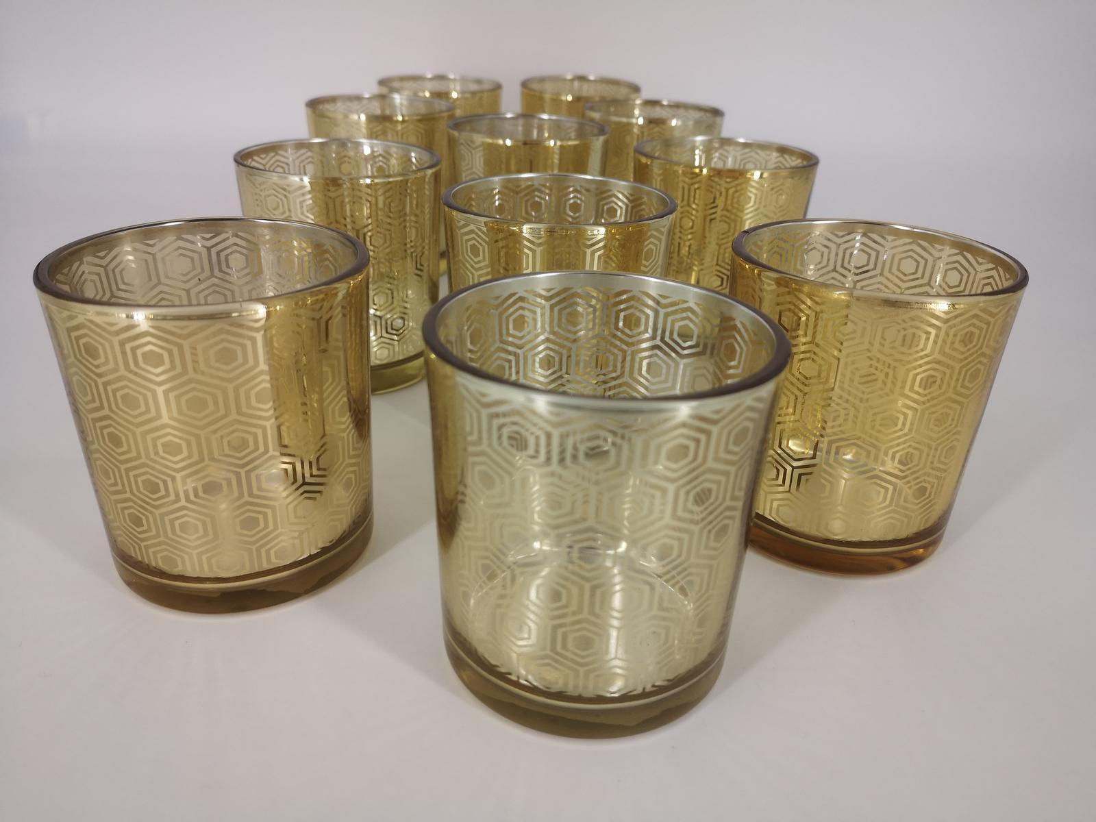 Predaj - 11 ks zlatých svietnikov - Obrázok č. 1