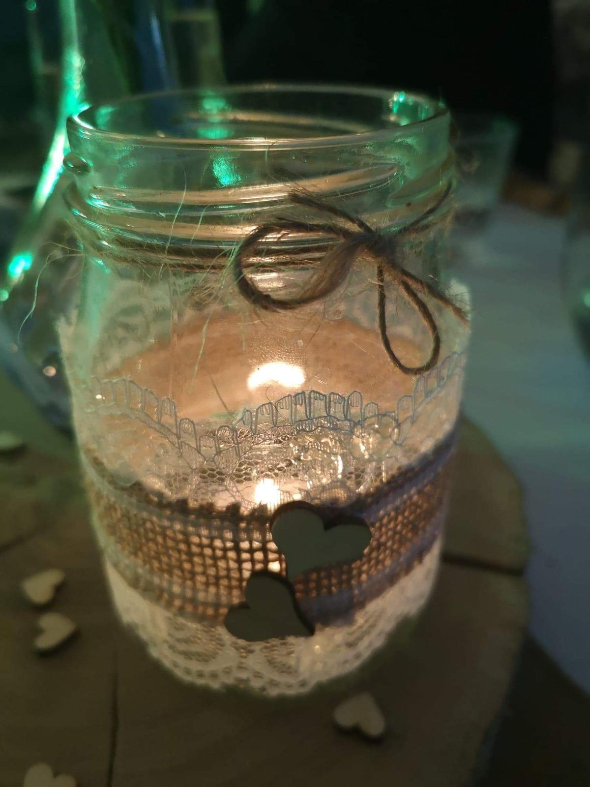 Malé vázy/svícny - boho styl - Obrázek č. 1