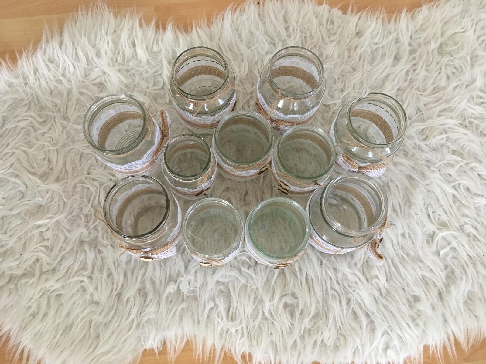 Malé vázy/svícny - boho styl - Obrázek č. 3