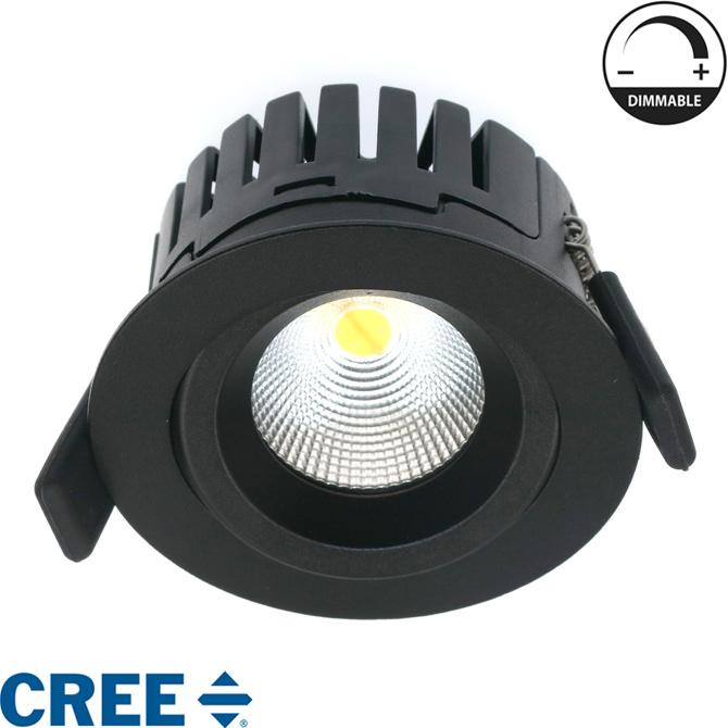 Zápustné LED bodové svítidlo, 8W 530lm - Obrázek č. 1