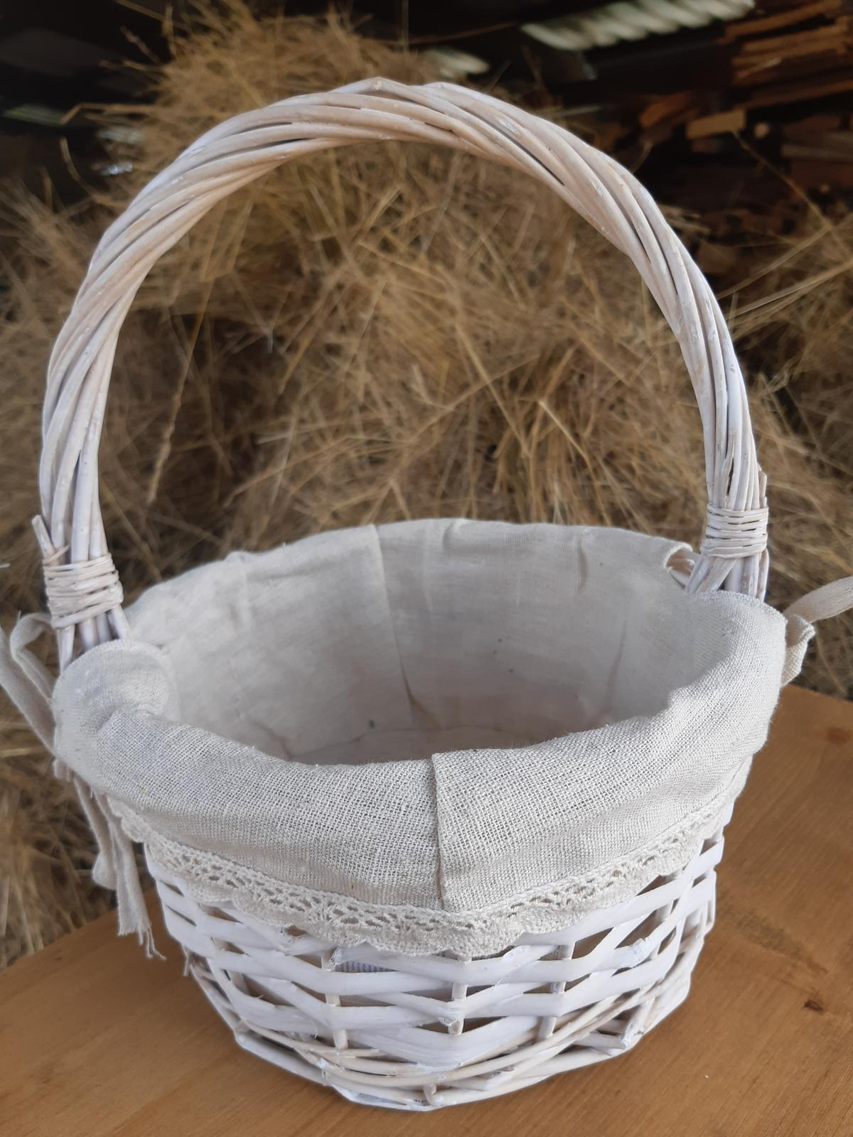proutěný košíček - Obrázek č. 1