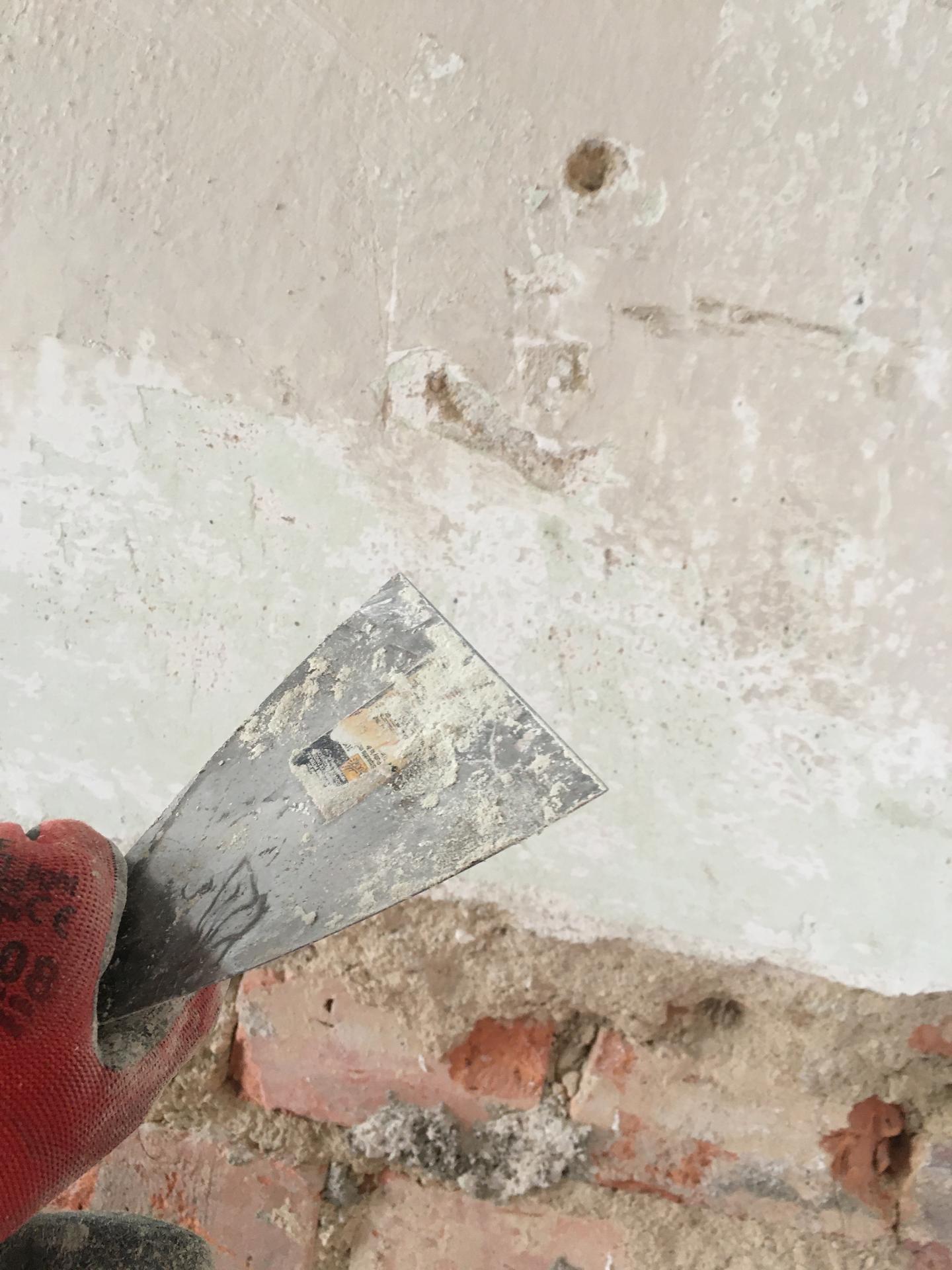 Rekonstrukce 🏡 20/21 - Škrábání zdí