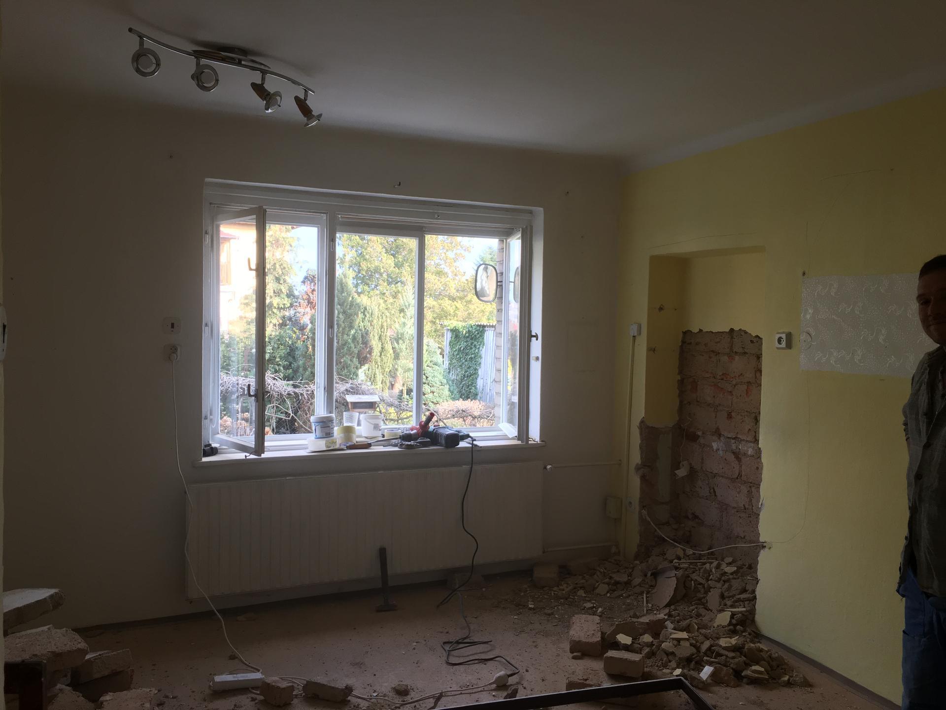 Rekonstrukce 🏡 20/21 - Obnova zazděných dveří