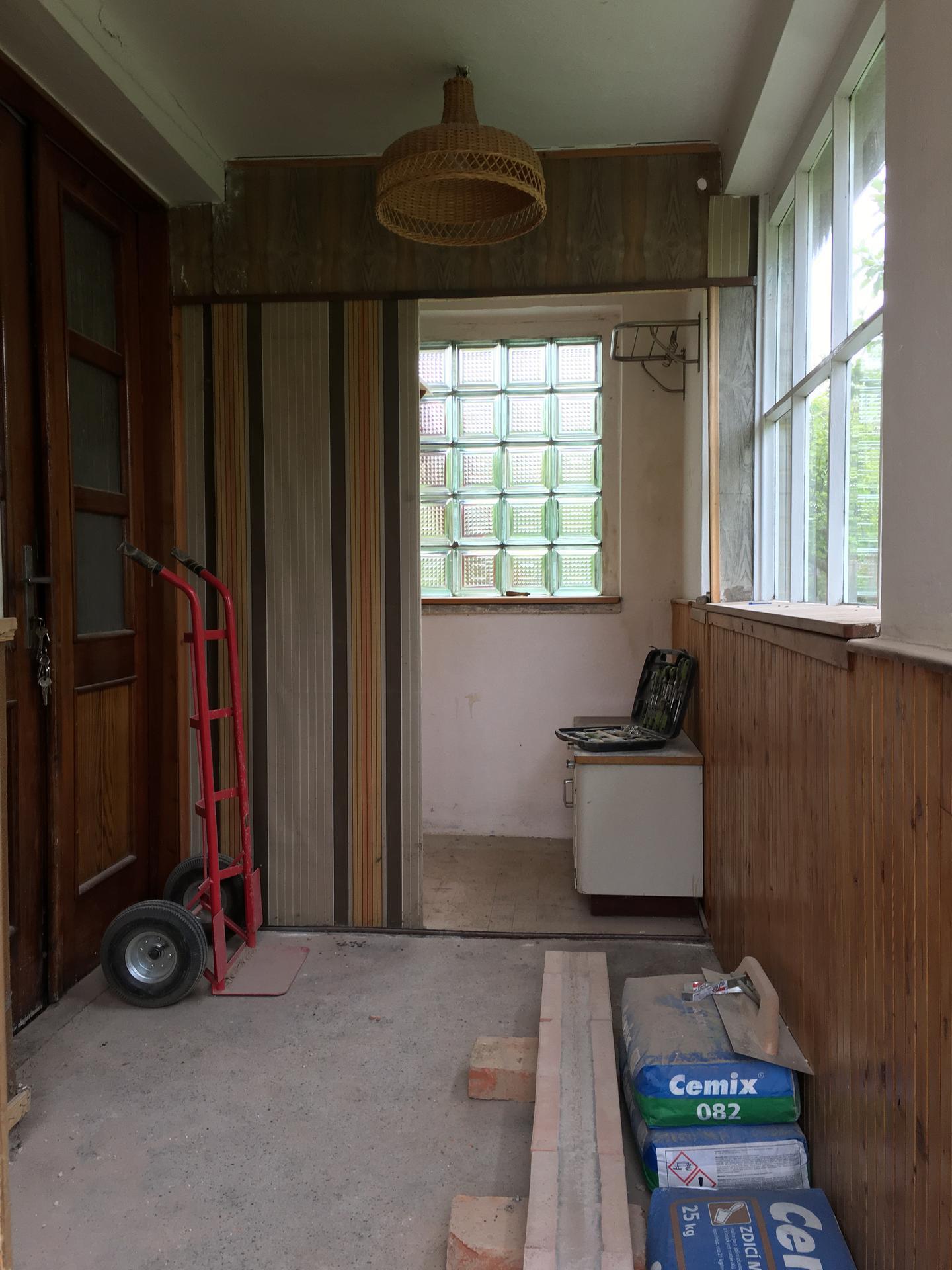 Rekonstrukce 🏡 20/21 - Demolice verandy