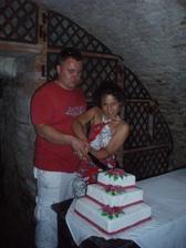 Ranní krájení dortu
