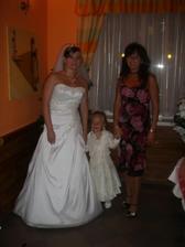 moja krstná mama a družička