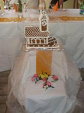 kostolik z paleneho cukru