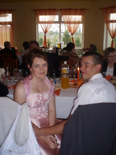 Zuzanka Lampertová{{_AND_}}Janko Kadja - zenichov bracho s priatelkou