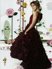 pekné šaty, pekná farba