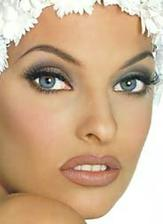...moj svadobny make up...