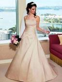 Svadobné šaty - vhodné aj pre tehulky 36-40, 36