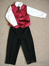 oblek pre mojho synceka podobny sa mu už sa šije..na synček bude mat počas našej svadby 20 mesiacov