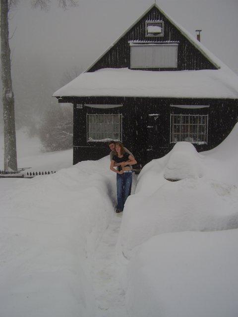 Moja príprava na 21.4.2007 - minulú zimu na chate
