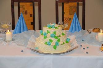 krásný a výborný dort