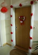 vyzdobená brána do môjho srdca :)))