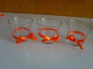 na vonné oranžové svíčky