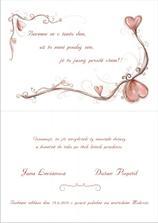 2. strana svatebního oznámení