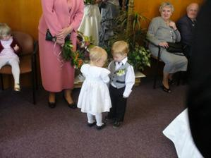 Náš syn, že by příští ženich a nevěsta?